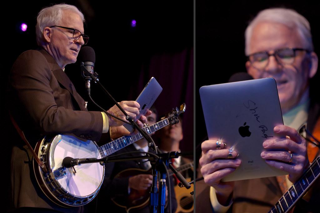 Steve Martin's iPad Setlist (史提夫·馬丁)
