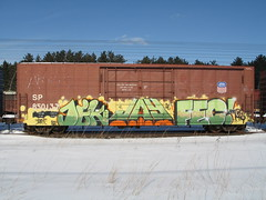 dek jay fec (benchomatic) Tags: train graffiti stpaul minneapolis trains mn wi freight altoona freights fr8 benching fr8s