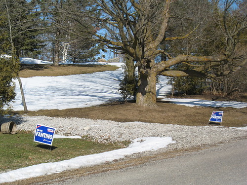 Leftover Signs...Or Gearing Up for the Next Election?