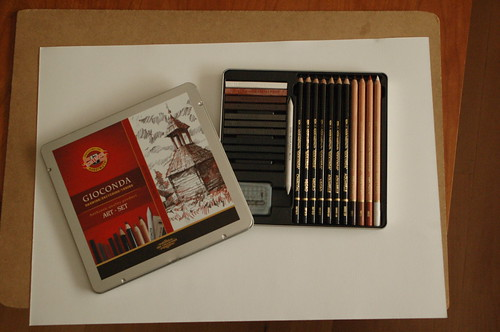 new pencils/lapices nuevos