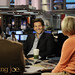 Bradley Cooper on the set of Morning Joe