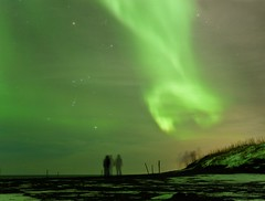 Soul Catcher (Magic Pea) Tags: sky snow green night stars landscape photography lights coast photo iceland magical northernlights auroraborealis selfoss magicpea