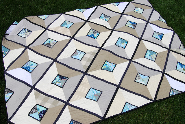 "finished Urban Lattice aka ""Facets"""