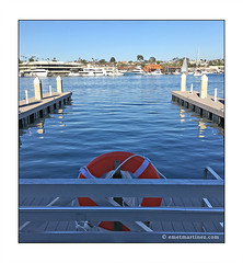 emp-life-boat-view (Emet Martinez Photography) Tags: lidoisle newportbeach ocean nautical boats seascape harbor blue water emetmartinezphotography emetmartinezcom digitalphotography sonya6000