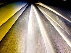 caught the sun in some fabric (losy) Tags: voile fabric sunlight abstract losyphotography