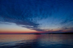Into the blue (GillWilson) Tags: croatia istria rovinj sunset