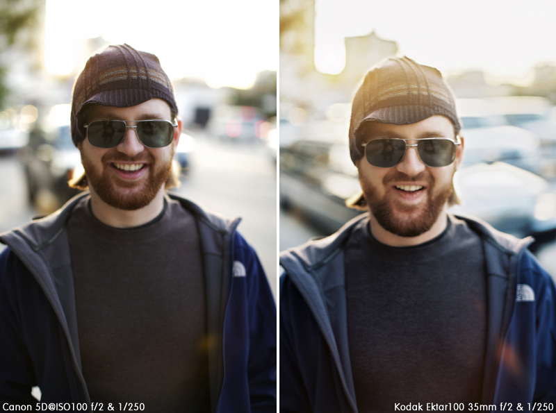 Canon 5D mk2 vs Kodak Ektar 35mm