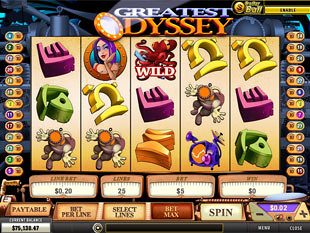 Greatest Odyssey slot game online review