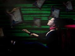 Carillon. (Monica Alagna) Tags: portrait music woman donna wind quadro autoritratto sel vento carillon