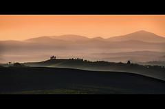 Think Bigger! (David Butali) Tags: sunset italy rural landscape italia tramonto country campagna tuscany siena pienza toscana paesaggi landascape saariysqualitypictures