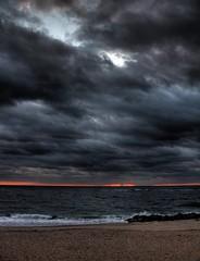 01-24-2011 60D sunrise HDR 02 (James Scott S) Tags: ocean usa sun seascape beach clouds sunrise canon dark scott landscape eos james high sand rocks waves dynamic florida united dramatic atlantic ii di pro fl rays states af dslr drama tamron range vc hdr 402 photomatix oceanscape f3563 60d 18270mm