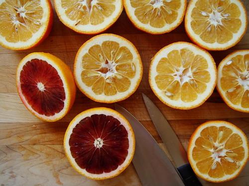 Seville & Moro Oranges