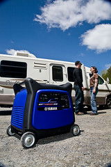 Yamaha Generator (Tripp Creative Photography) Tags: blue generator commercial yamaha rv advertisingphoto
