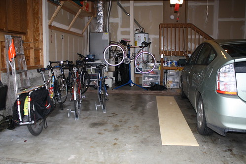 Garage Bike Space