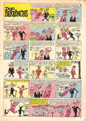 007-Don Berrinche-DDT 3ª época nº 0 1967