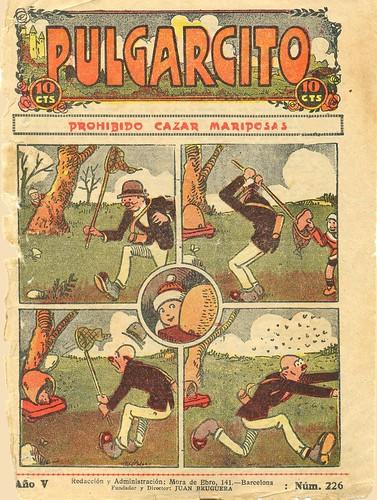 013-Portada Pulgarcito 1925