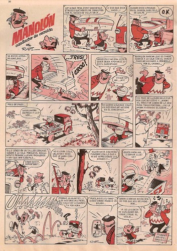 028--Manolon conductor de camion- Gran Pulgarcito nº1 1969