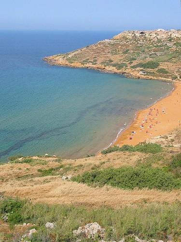 Beach Gozo, Malta