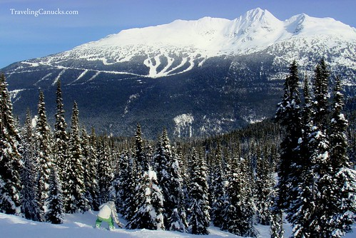 Blackcomb Mountain in Whistler, Canada