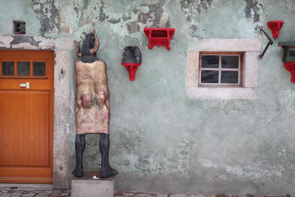 street art in Český Krumlov 12