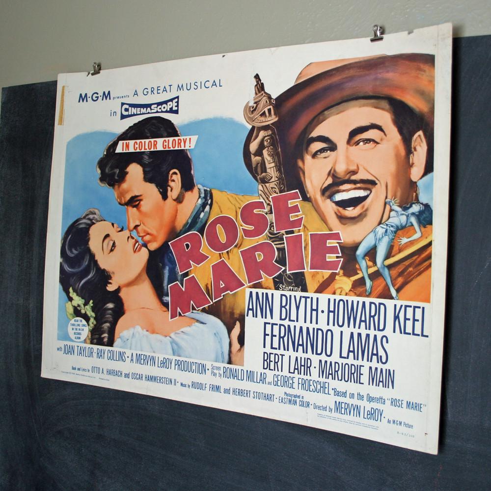 Vintage Original Rose Marie Movie Poster