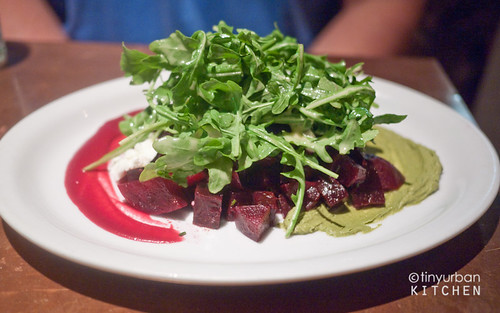 Pistachio Beet Salad  from Garden at the Cellar