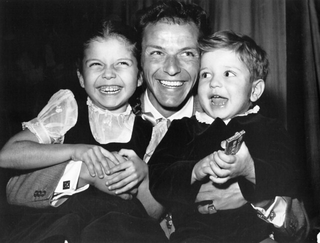 Frank Sinatra and his children