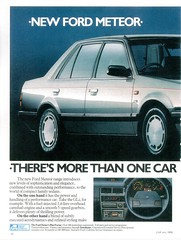 1986 Ford Meteor (South Africa) p1