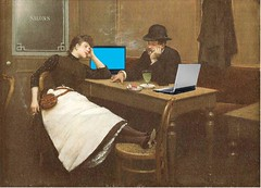 Au Cyber Cafe, after Jean Braud (Mike Licht, NotionsCapital.com) Tags: art painting web internet paintings couples computers smoking dating impressionism laptops cigarettes smokers cybercafe impressionists frenchart worldwideweb bellepoque cybercafes braud jeanberaud mikelicht notionscapitalcom jeanbraud