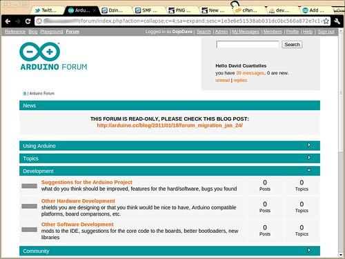 Arduino Forum 2011 - Preview