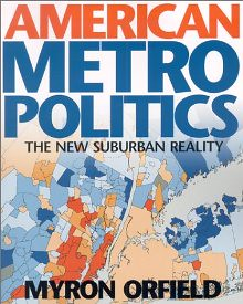 Metropolitics by Myron Orfield, book cover