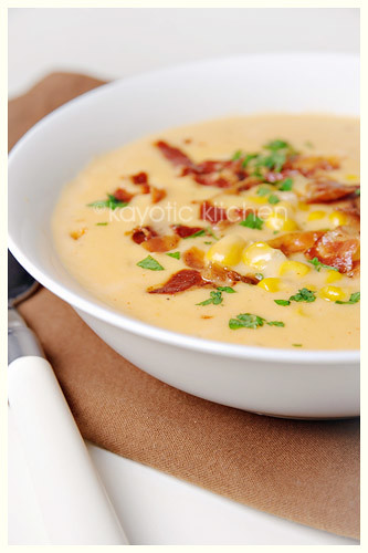 Wisconsin Cheddar Cheese Soup « Kayotic Kitchen