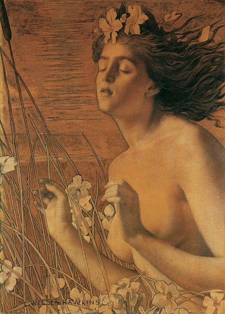 Louis Welden Hawkins-Autumn 1895