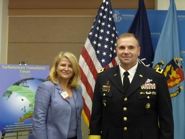 Joelle Garriaud Maylam au Forum Transatlantique de l'OTAN (2)