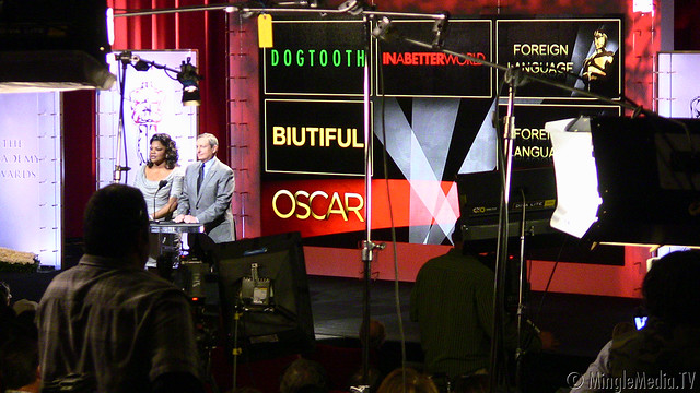 Mo'Nique and Tom Sherak at the 83rd Academy Awards Nomination Announcement IMG_6465 by MingleMediaTVNetwork