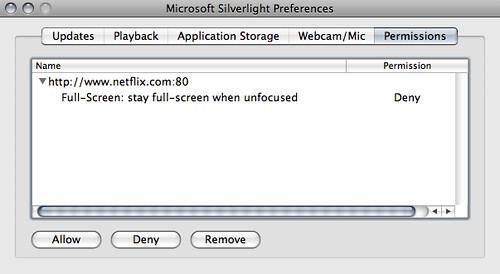 Silverlight prefs 2