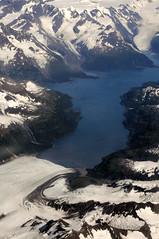2010 Alaska From 35,000 Feet 62 (DrLensCap) Tags: from mountain lake mountains robert feet alaska river ak glacier airlines kramer 737 35000
