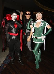 Odd Team Up (BelleChere) Tags: costume comic geek cosplay cartoon rogue marvel dragoncon 2010 warpath mistersinister