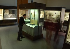 Michael Lewis studies the case in the BM gallery