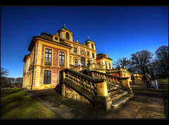 Schloss Favorite (Kemoauc) Tags: park castle architecture photoshop deutschland nikon view schloss hdr ludwigsburg topaz historisch württemberg anblick d90 photomatix nikond90 hdrterrorist kemoauc
