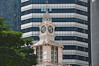 Clock Tower at Lau Pa Sat (Eustaquio Santimano) Tags: tower clock monument work james mac singapore iron market colonial victorian pa national cast sat majestic engineer 1973 ritchie lau 1825 ayer telok inception iorn bej