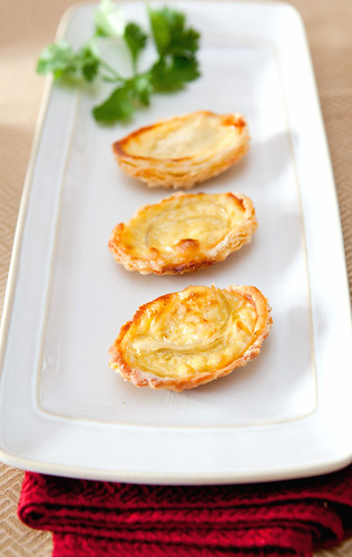 Homemade Bird Nest Egg Custard Tart or Dan Tat (i燕窩蛋撻)