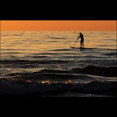 infinity (leuntje) Tags: sunset netherlands zonsondergang noordzee explore northsea katwijk frontpage silhouet paddlesurfing paddleboarding standuppaddlesurfing gettyimagesbeneluxq2