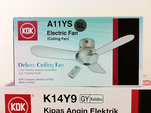 Smaller doesn't mean cheaper. This fan is RM50 more than the K14Y9