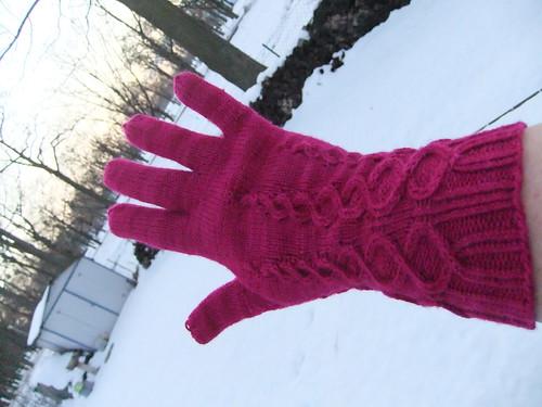 Eisblumen Handschuhe