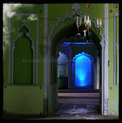 The Stairway of Existence (designldg) Tags: blue india green heritage mystery architecture square colours muslim islam faith dream atmosphere soul devotion spiritual lucknow uttarpradesh भारत nawab indiasong