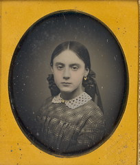 Portland, Maine Beauty by Howe (Mirror Image Gallery) Tags: portlandmaine victoriangirl daguerreotypes gwhowe
