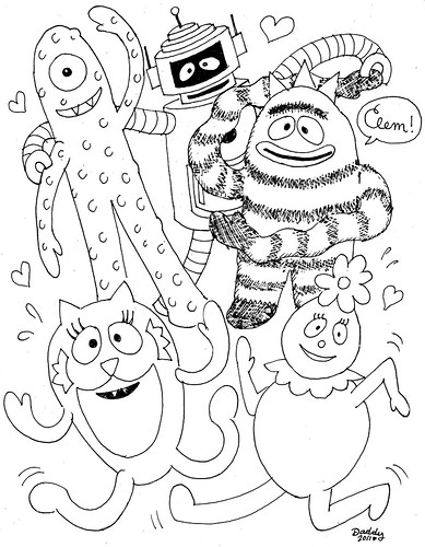 muno coloring pages - photo#33