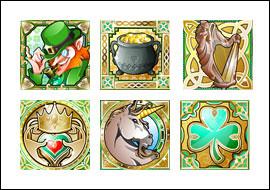 free Shamrock Isle slot game symbols