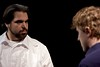 Alquist confronts the robot leader